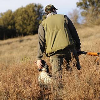 hunter-with-bird